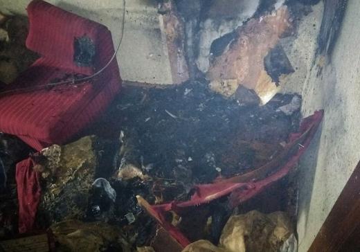 В Ужгороді електричний обігрівач призвів до пожежі