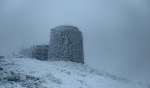 Сніг вкрив карпатські вершини (ФОТО)