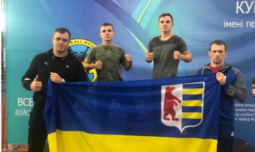 У Кубку України з військово-спортивного багатоборства взяли участь і закарпатські спортсмени
