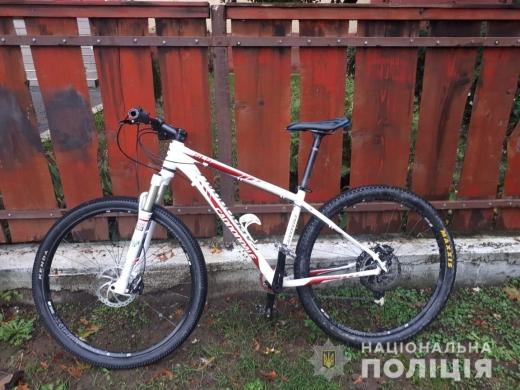 На Ужгородщині спіймали крадія велосипедів