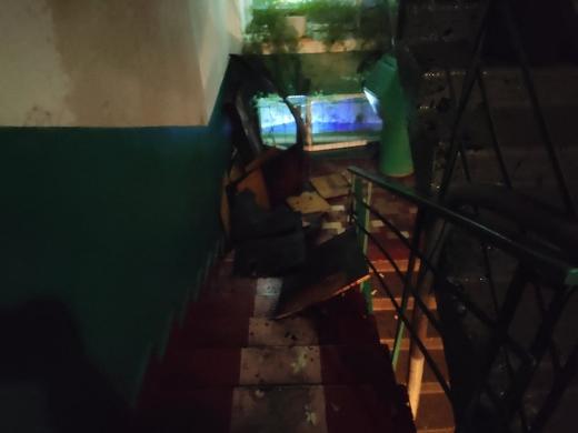 В Ужгороді сталася пожежа в п'ятиповерховому будинку