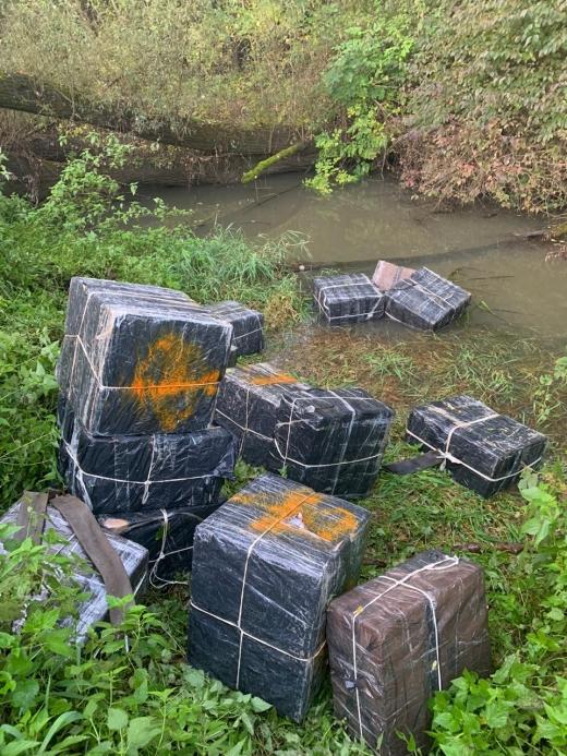 На Закарпатті контрабандистам не вдалося подолати водний кордон