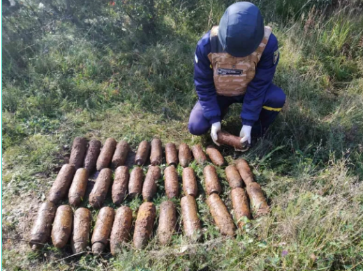 """""""Вибухова"""" знахідка: закарпатець, збираючи гриби, натрапив на артилерійські снаряди"""