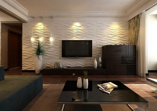 Що вибрати для оздоблення стін у вітальні: рекомендації спеціалістів АРС