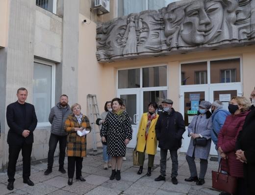 В Ужгороді встановили меморіальну дошку відомому закарпатському хореографу-балетмейстру
