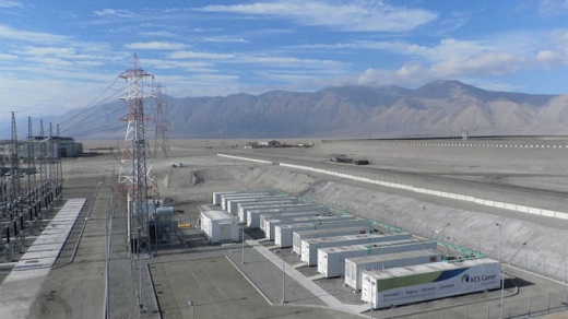 У Чилі будують найбільшу у Латинській Америці систему зберігання «зеленої» електроенергії