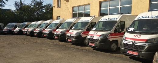 Закарпатські села отримали нові машини швидкої допомоги