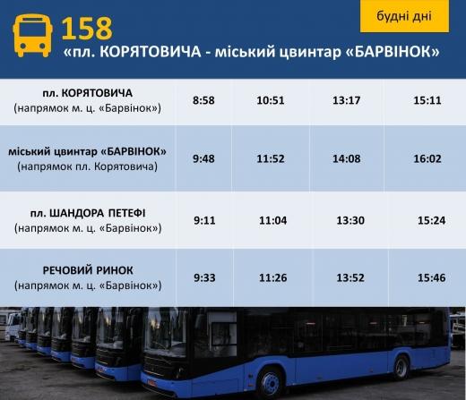 В Ужгороді з'явився новий автобусний маршрут: розклад руху