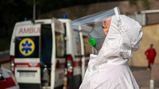 В Україні зайнято 61% ліжок для хворих із коронавірусом