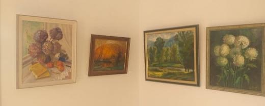 Художниця Ольга Скакандій відкрила вже 10 виставку  картин в Ужгороді (ВІДЕО)