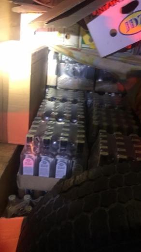 На Закарпатті виявили партію контрафактного алкоголю та цигарок на 150 тисяч гривень (ФОТО)