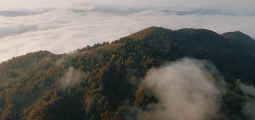 В мережі опублікували вражаюче відео з видом на гори Тячівщини