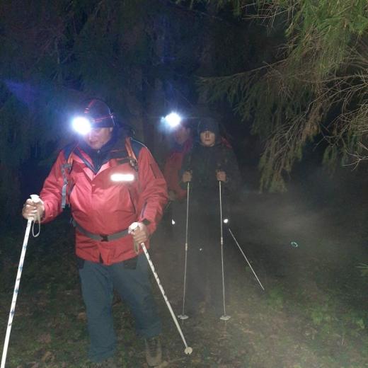 На Рахівщині рятувальники шукали заблукалих туристів (ФОТО)