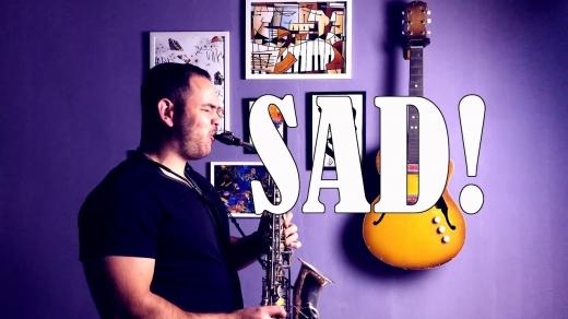 Ужгородець потішив шанувальників новим кавером на саксофоні (відео)