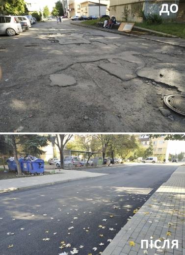 В Ужгороді капітально відремонтували вулицю Полонинську (фотофакт)