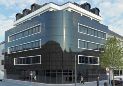 На фасаді муніципальної будівлі в Німеччині встановлюють сонячні панелі