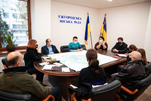 Концепцію велоінфраструктури Ужгорода винесуть на розгляд громадськості