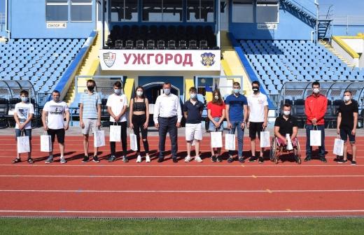 Триває прийом документів на здобуття стипендій найкращими спортсменами Ужгорода