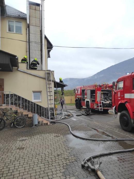 За добу з чотирьох пожеж на Закарпатті - у двох випадках горіли котельні
