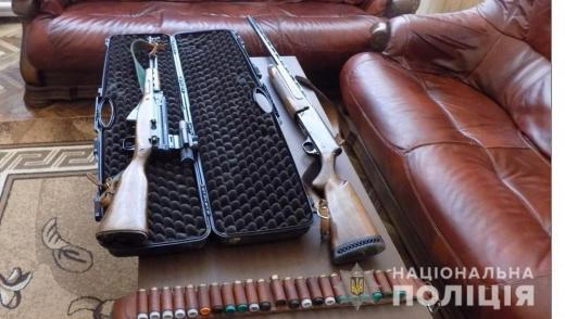 На Хустщині односельці вкрали у чоловіка мисливську зброю