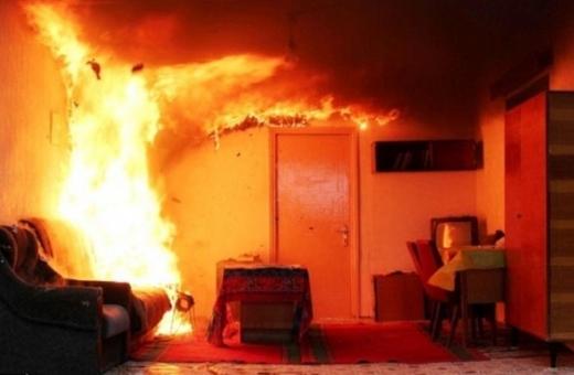 На Рахівщині через пожежу одна людина отримала опіки ІІ ступеню і одна загинула