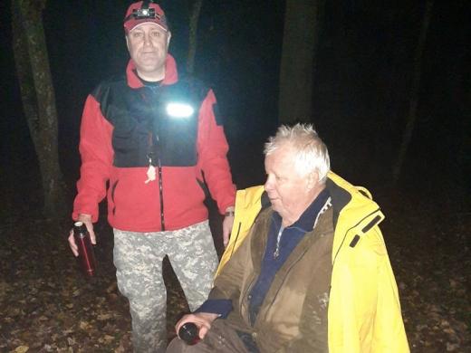 На Мукачівщині під час збирання грибів заблукав 79-річний чоловік