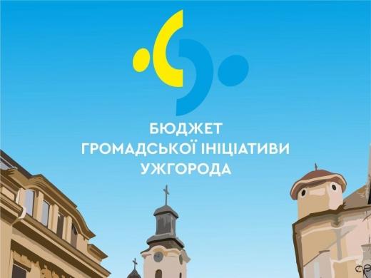 Завершилося голосування за проєкти «Бюджету громадської ініціативи» Ужгорода