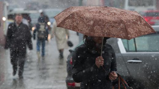 Погода 20 листопада: суттєве похолодання та сніг з дощем