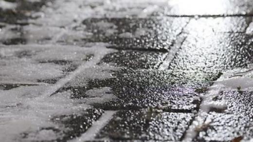 Мокрий сніг і ожеледиця очікуються де-не-де в вихідні