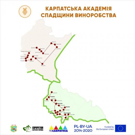 Для туристів створили транскордонний винний маршрут Закарпаття та Підкарпатського воєводства