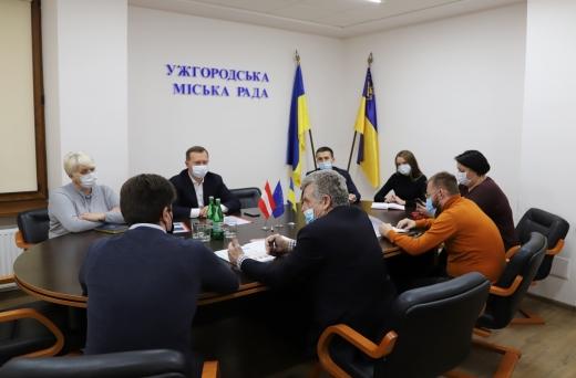 Австрійські інвестори пропонують вирішення проблеми твердих побутових відходів в Ужгороді
