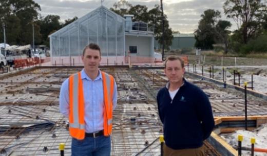В Австралії стартувало будівництво першої теплиці із прозорого «сонячного» скла