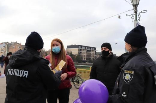 В Ужгороді відбувся захід, присвячений боротьбі з насильством