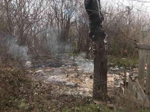 На місці пожежі у Виноградові виявили обгоріле тіло людини