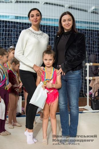 """Ужгородські гімнастки здобули """"золото"""" на всеукраїнських змаганнях"""