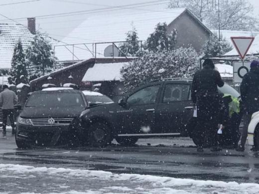 Біля Ужгорода зіштовхнулись дві автівки