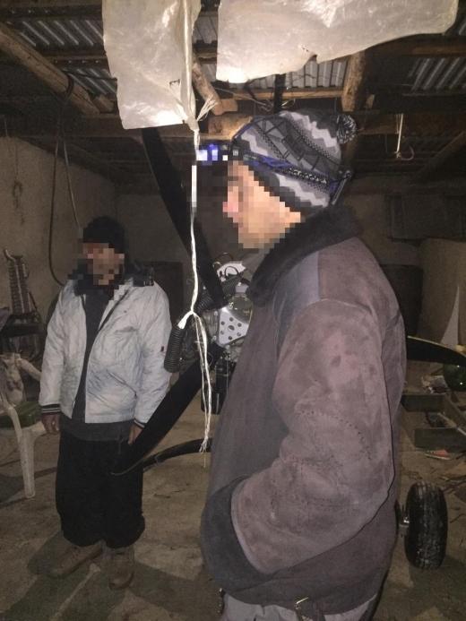 На Закарпатті затримали контрабандистів із дельтапланом