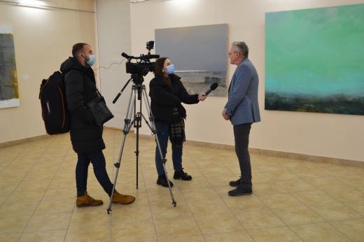 В Ужгороді відкрилась персональна виставка робіт Тараса Табаки