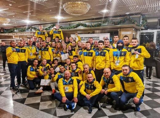 Українські боксери здобули п'ять золотих медалей на чемпіонаті Європи