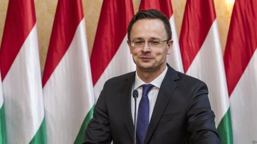 Глава МЗС Угорщини заявив, що місія ОБСЄ відмовляється захищати угорську меншину на Закарпатті