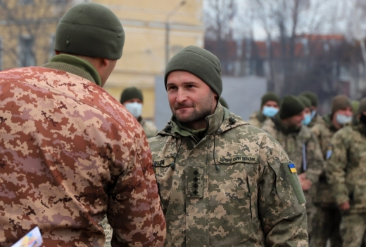 В Ужгороді привітали військових із Днем Збройних Сил України