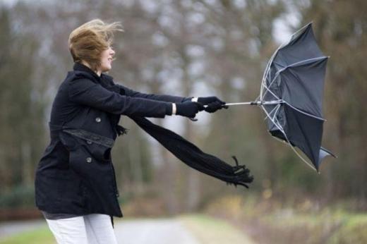 На початку тижня в Україні прогнозують штормовий вітер