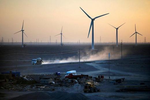 У Китаї запустили вітрову станцію потужністю 500 ГВт