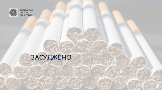 85 тис. грн штрафу сплатить закарпатець за спробу тютюнової контрабанди