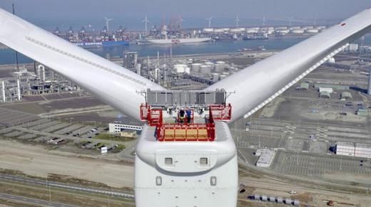 США побудують морський вітропарк з найбільшими у світі вітрогенераторами