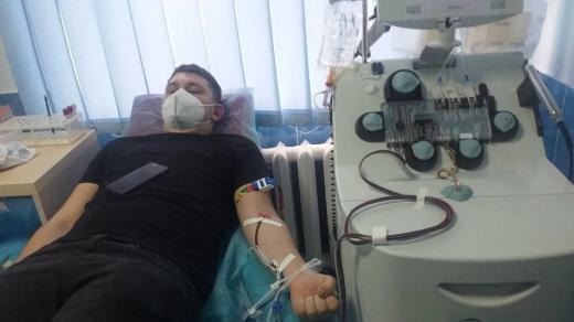 На закарпатській станції переливання крові розпочалась благодійна акція до Дня святого Миколая