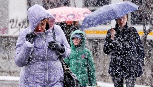 Дощ зі снігом, сильний вітер і до -11°: якою буде погода до кінця тижня