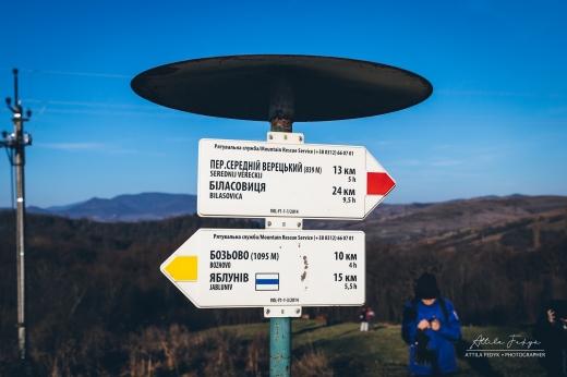 Фотограф показав атмосферні світлини з прогулянки на Верхній Бескид
