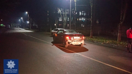 ДТП у Мукачеві: водій зник з місця події