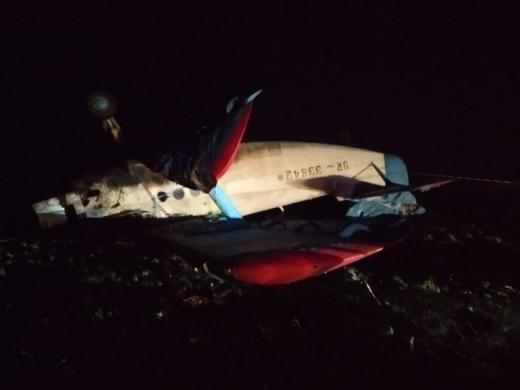На Тернопільщині впав легкомоторний літак: є загиблий